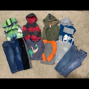 Hurley/UA/Cat & Jack 3T bundle!